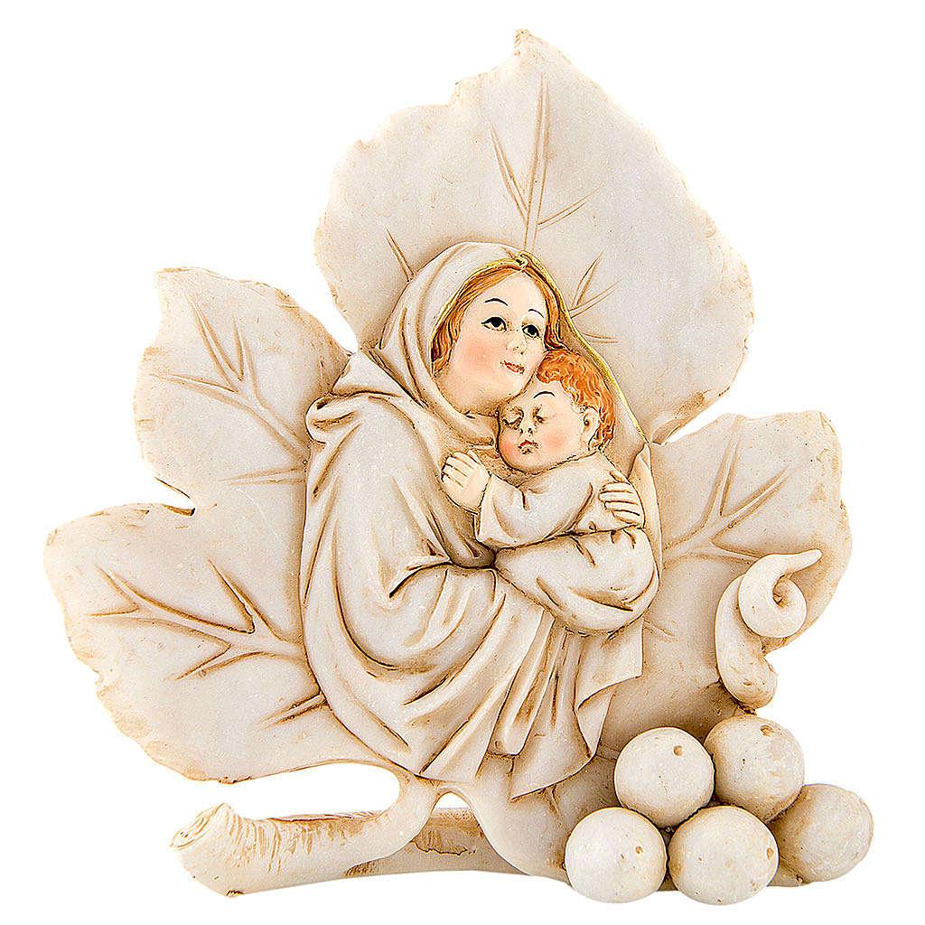 Lembrancinha nascimento folha maternidade 8 cm 3