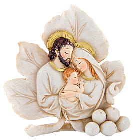 Bomboniera Matrimonio Foglia S. Famiglia 6 cm s1