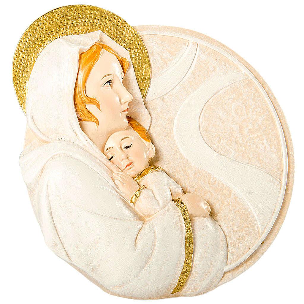 Bomboniera Nascita Tondo Maternità 10 cm 3