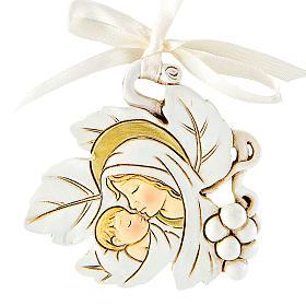 Ricordino Nascita Foglia Maternità 5 cm s1