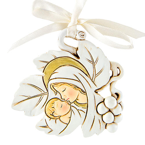 Ricordino Nascita Foglia Maternità 5 cm 1