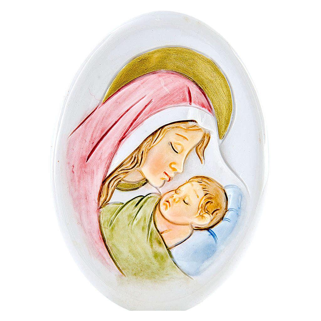 Lembrancinha Nascimento oval Maternidade 8 cm 3