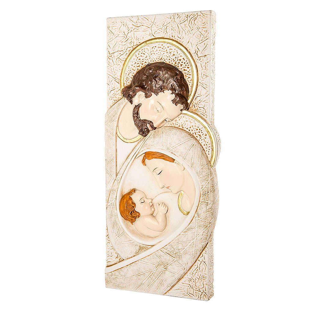 Quadro Matrimonio immagine Sacra Famiglia 13x32 cm 3