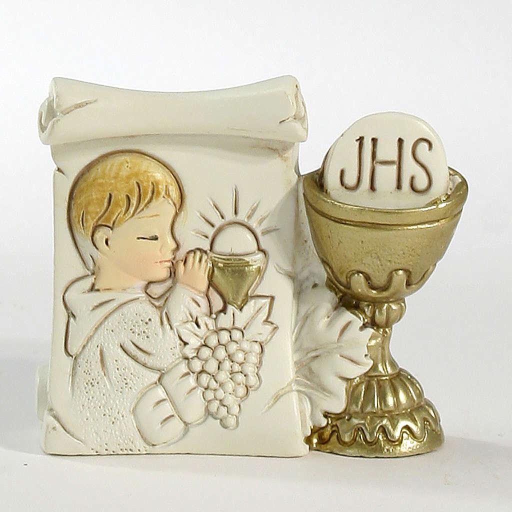 Parchment Chalice Boy 6x5,5cm 3