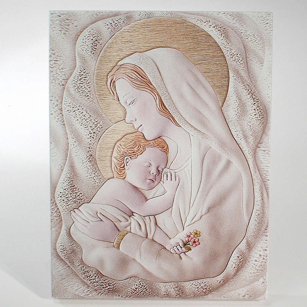 Ricordino Nascita Quadretto Rettangolare Maternità 10,5X15 cm 3