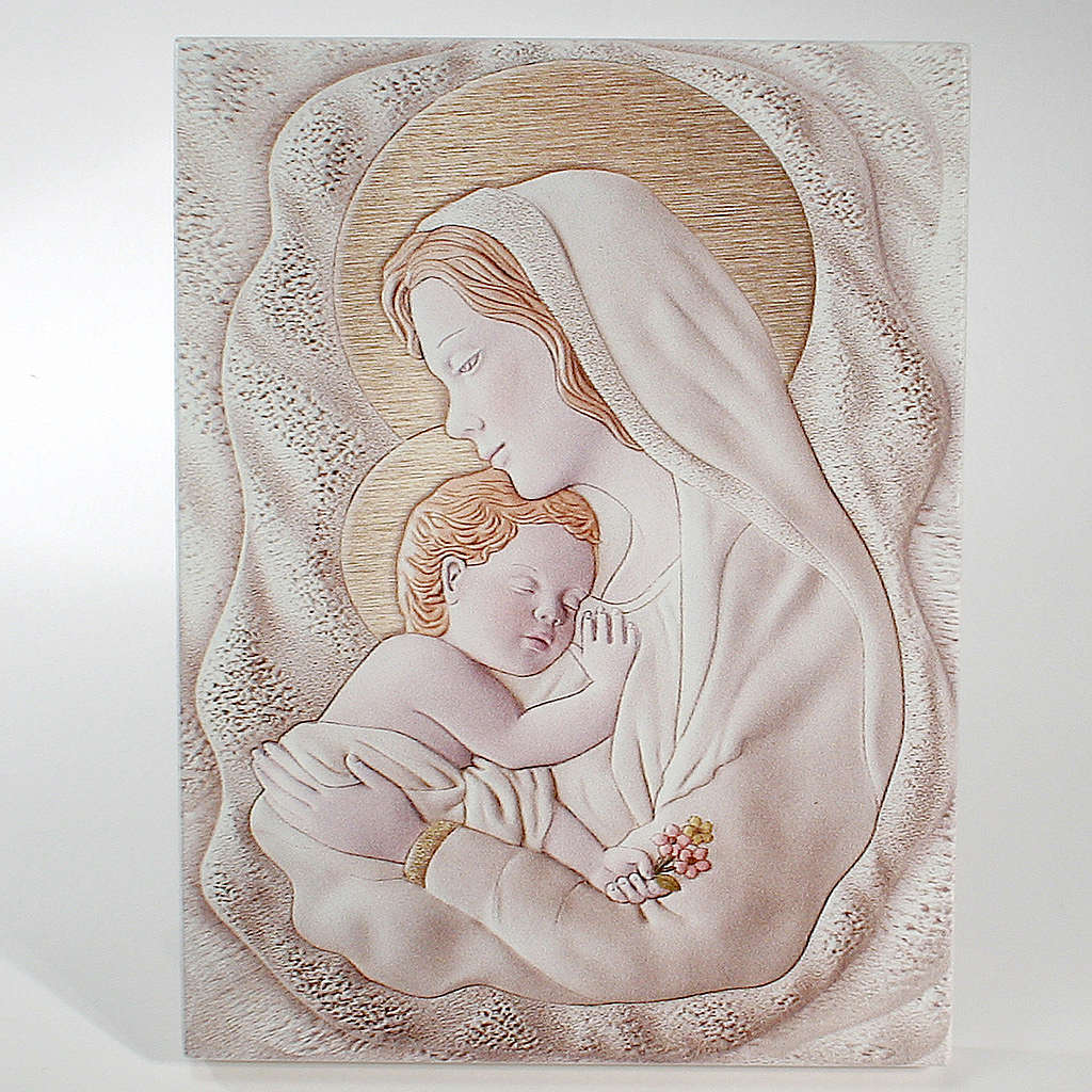 Painting Maternity rectangular shaped 8x12cm 3