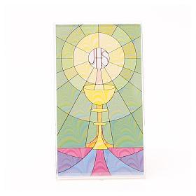 Cuadro con Base Pléxiglass de Mesa con Cáliz 12 x 7 cm s1