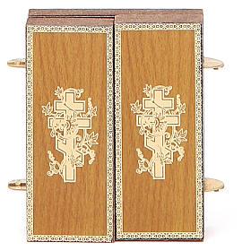 Trittico russo legno applicazione Kazanskaya 9,5x5,5 s6