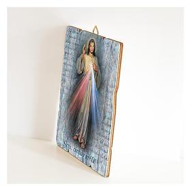 Tableau en bois profilé Christ Miséricordieux s2