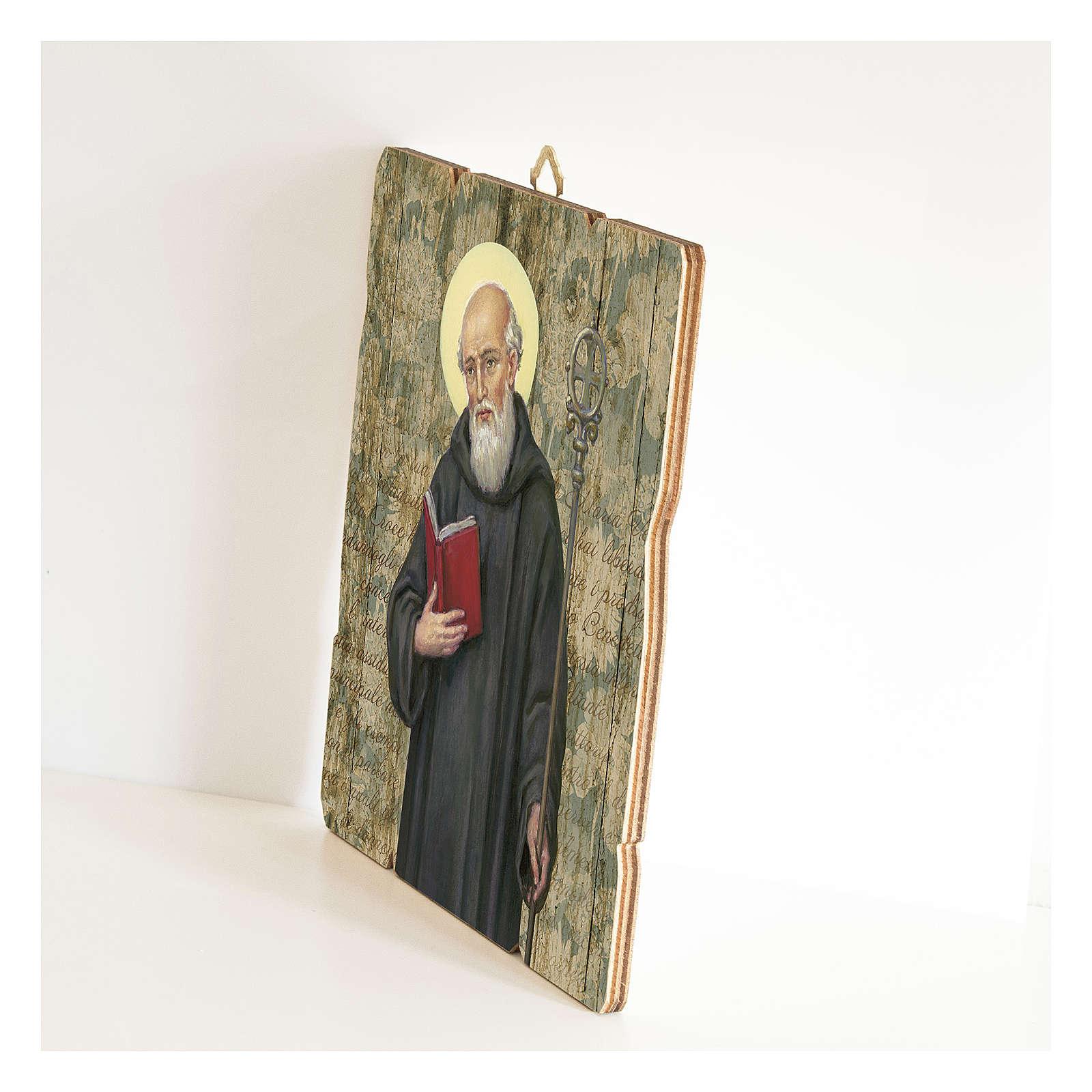 Tableau en bois profilé St Benoît 3