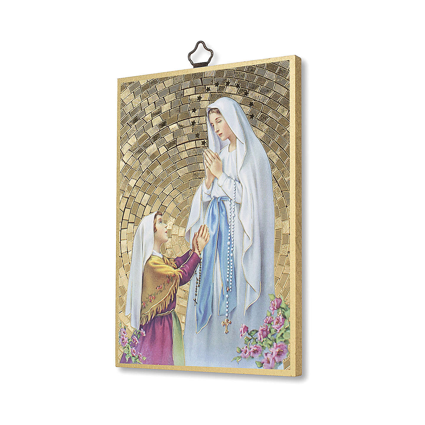 Apparition of Our Lady of Lourdes with Bernardette and Immaculate Conception Novena ITALIAN 3