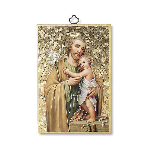 Stampa su legno San Giuseppe 1