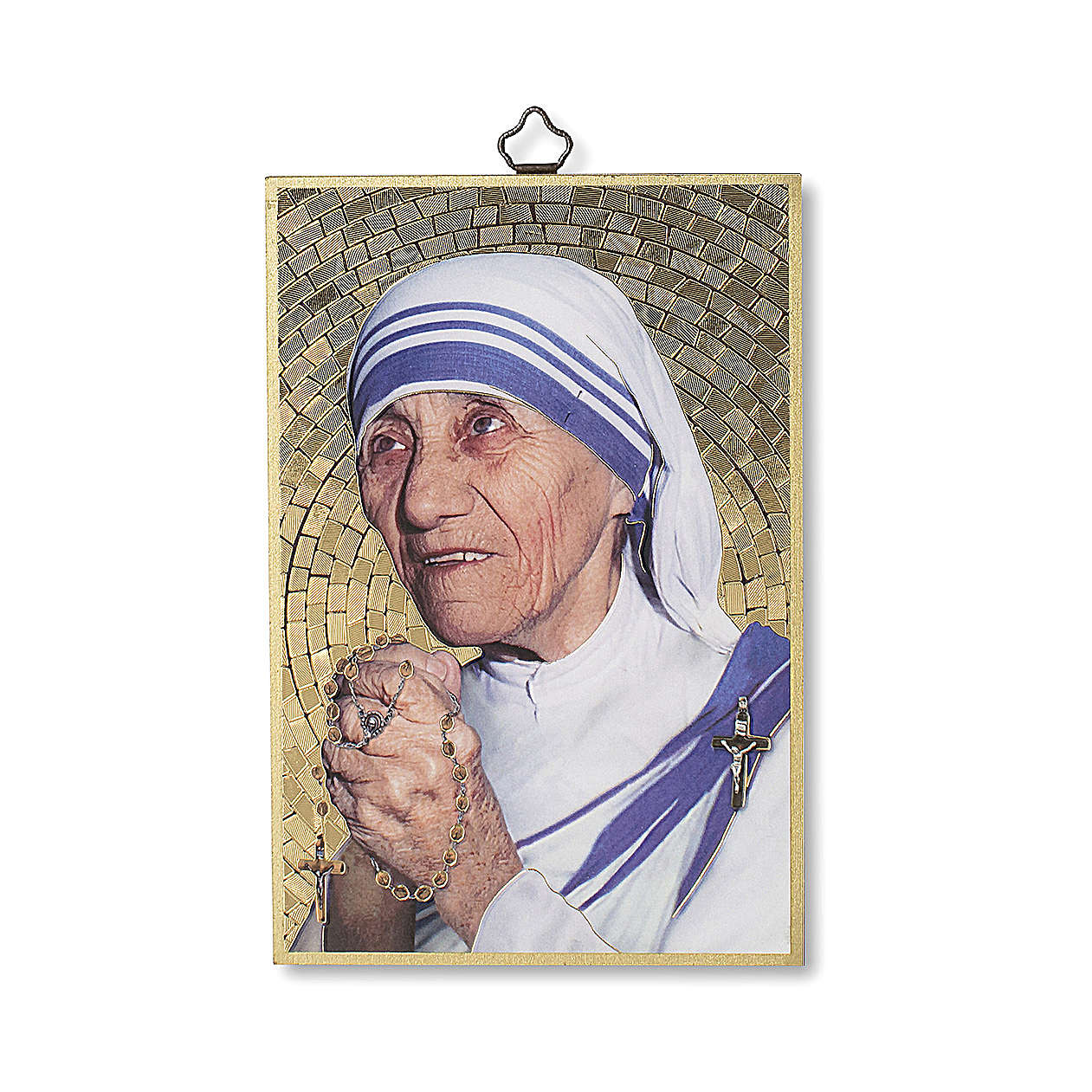 Stampa su legno Santa Madre Teresa di Calcutta 3