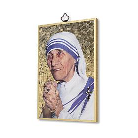 Stampa su legno Santa Madre Teresa di Calcutta s2