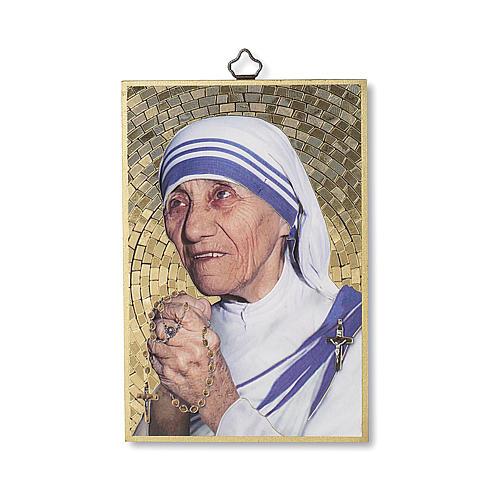 Stampa su legno Santa Madre Teresa di Calcutta 1