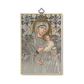 Stampa su legno Icona Madonna del Perpetuo Soccorso s1