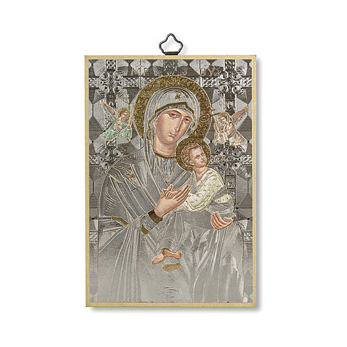 Stampa su legno Icona Madonna del Perpetuo Soccorso 1