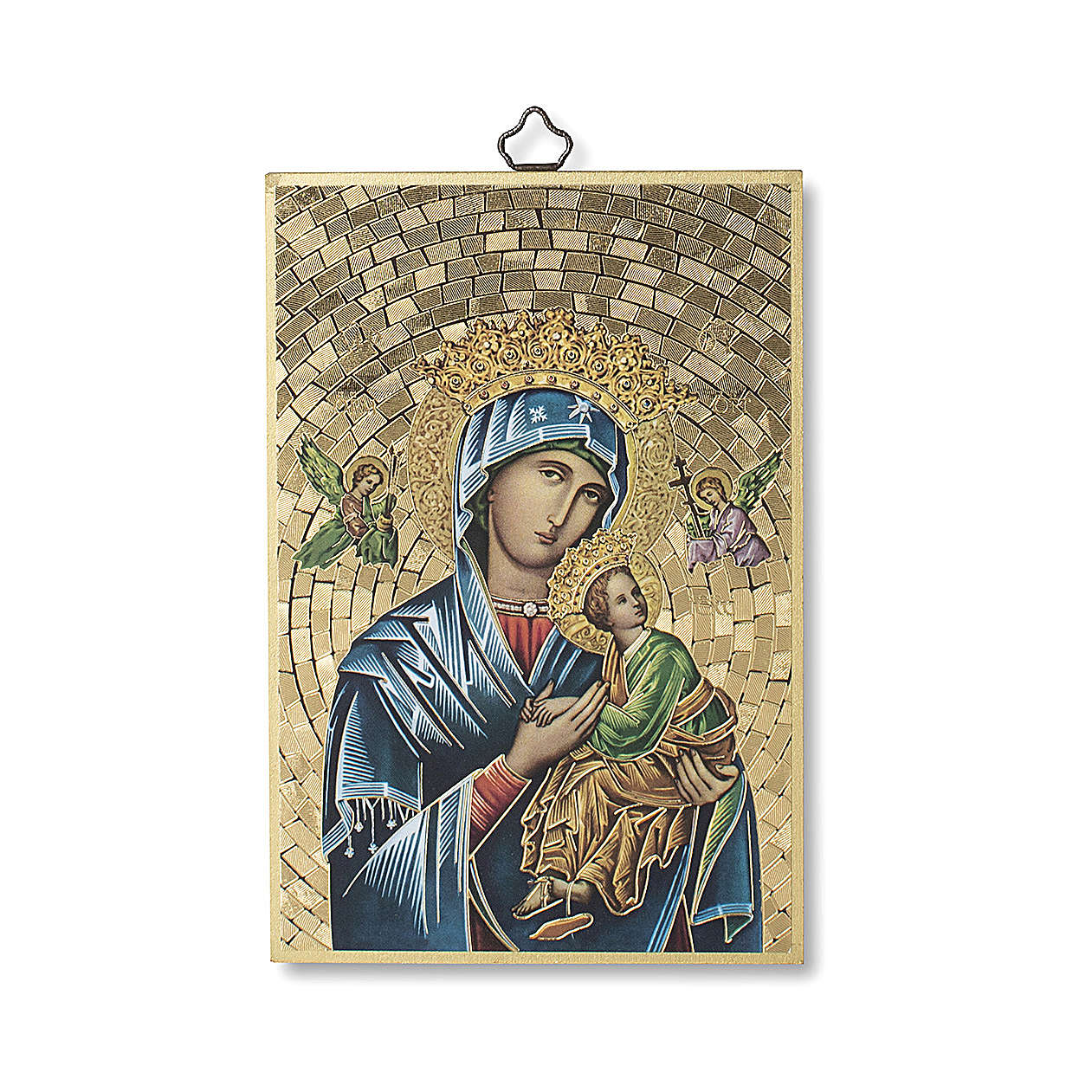 Stampa su legno Madonna del Perpetuo Soccorso 3