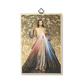 Impression sur bois Christ Miséricordieux s1