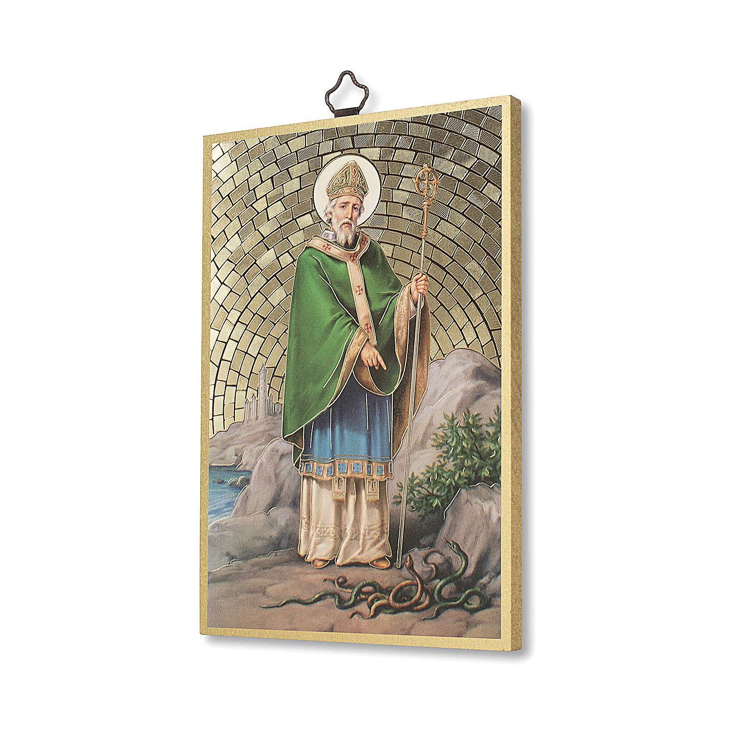 Stampa su legno San Patrizio 3