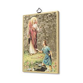 Impression sur bois St Raphaël Archange s2
