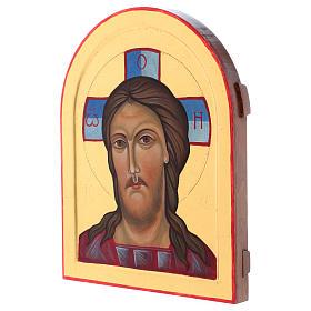 Icona Volto di Cristo dipinta a mano in Italia Monastero Montesole s2