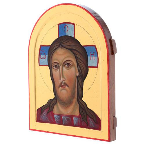 Icona Volto di Cristo dipinta a mano in Italia Monastero Montesole 2