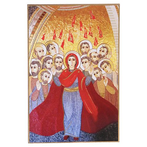Quadretto Rupnik Pentecoste 10x15 cm 1