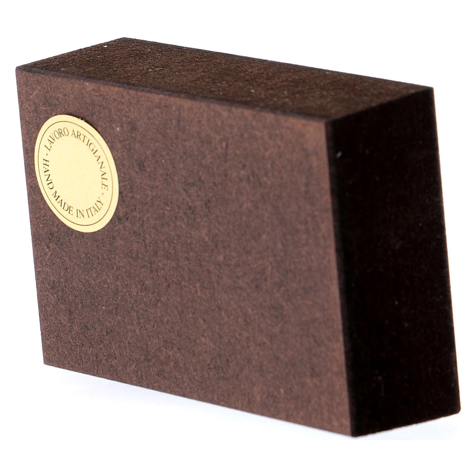 Quadretto Nozze di Cana 5x5 cm Rupnik 3