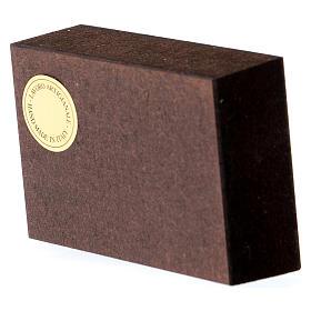 Quadretto Nozze di Cana 5x5 cm Rupnik s3