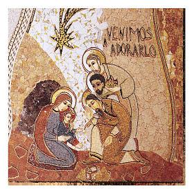 Adoracja Trzech Króli druk 5x5cm s2
