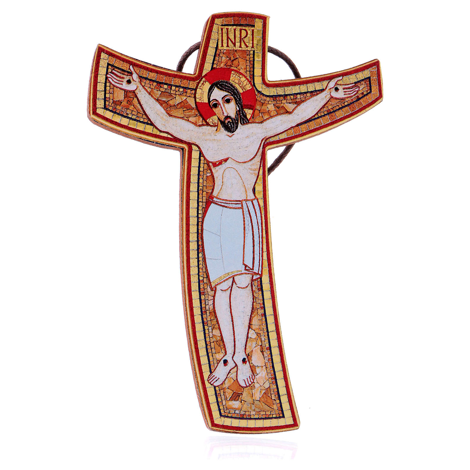 Croce Rupnik 5x10 cm 4