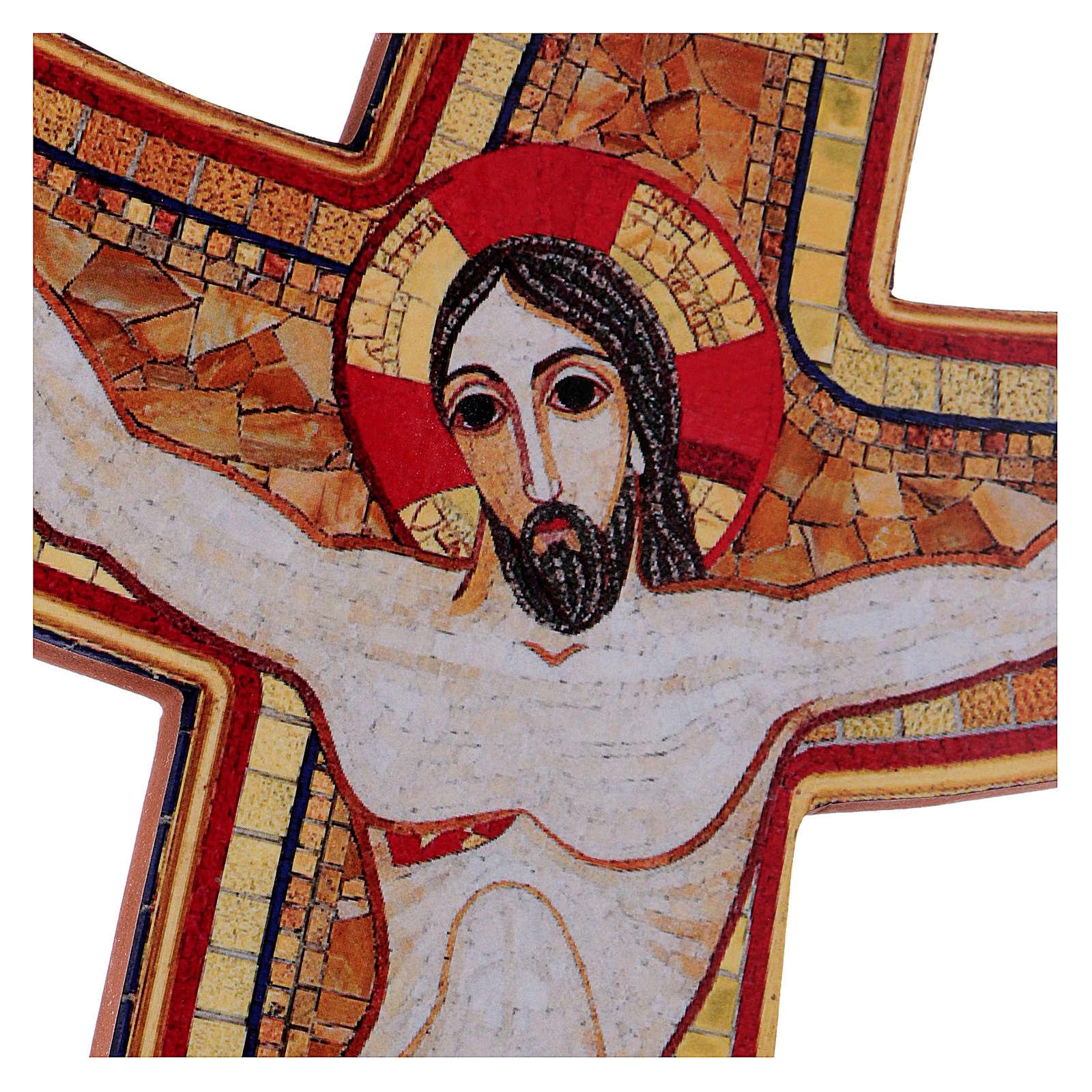 Croce della Misericordia Rupnik 25x35 cm 4