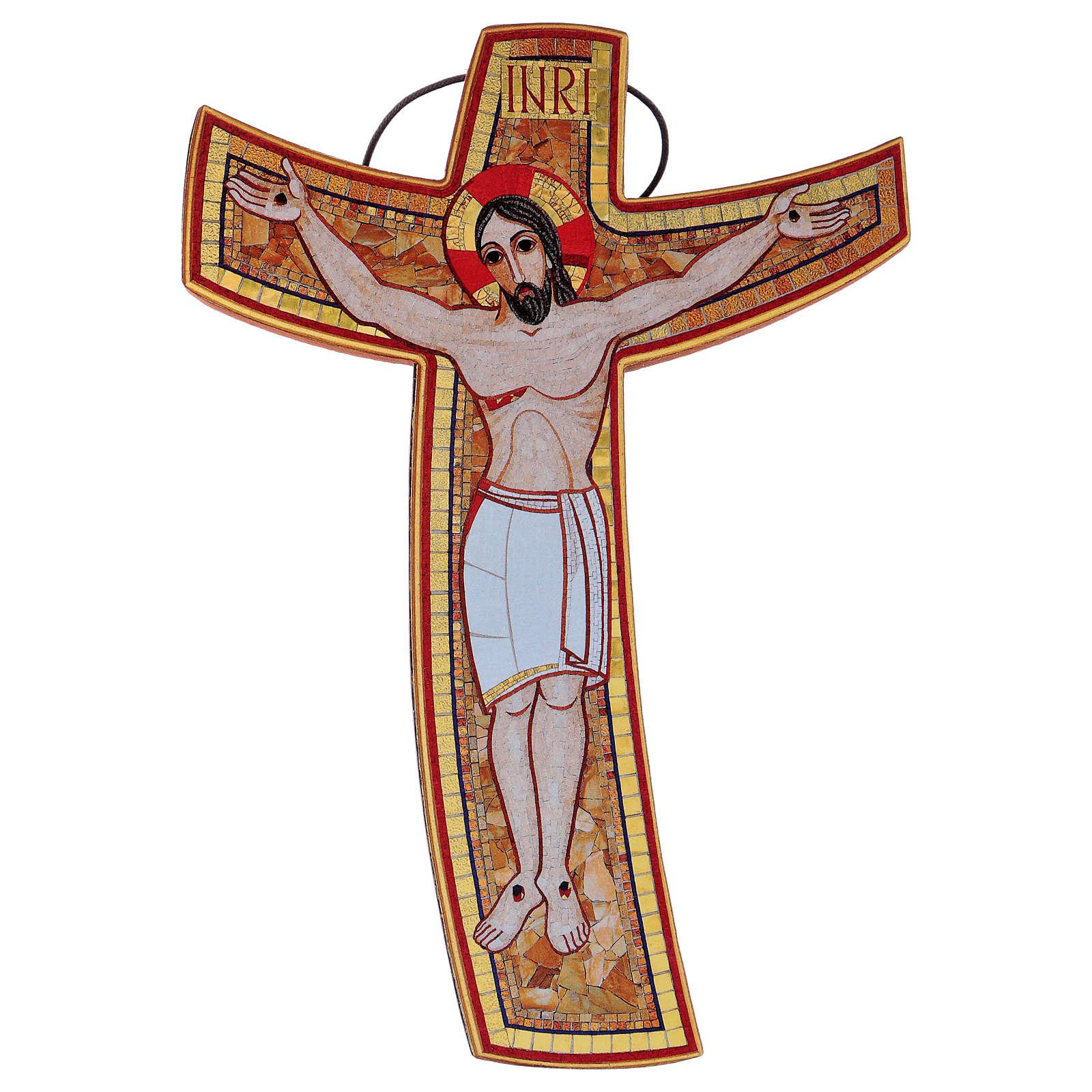 Croce della Misericordia da tavolo e muro 15x25 cm 4