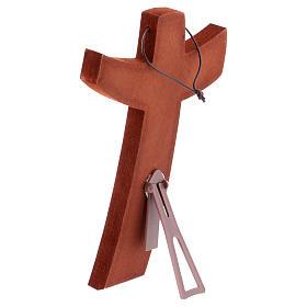 Croce della Misericordia da tavolo e muro 15x25 cm s4