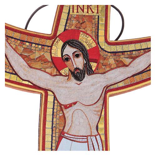 Croce della Misericordia da tavolo e muro 15x25 cm 2