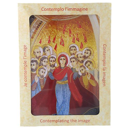 Quadro stampa La Pentecoste di Padre Rupnik 20x30 cm 4