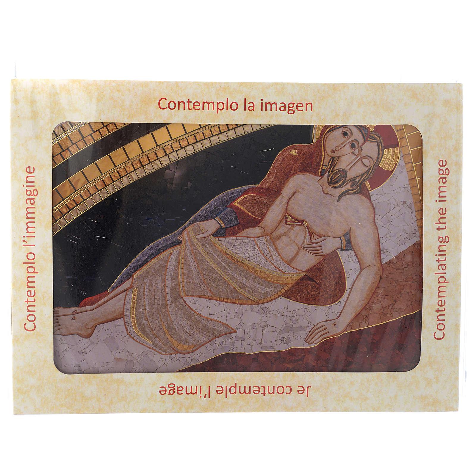 Quadro stampa La Pietà di Rupnik 20x30 3