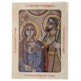 Print Holy Family by Rupnik 20x30 cm s4
