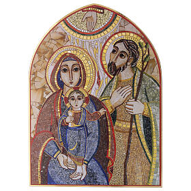 Print Holy Family by Rupnik 20x30 cm s1