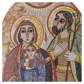 Print Holy Family by Rupnik 20x30 cm s2