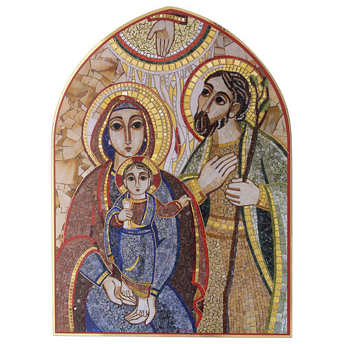 Print Holy Family by Rupnik 20x30 cm 1