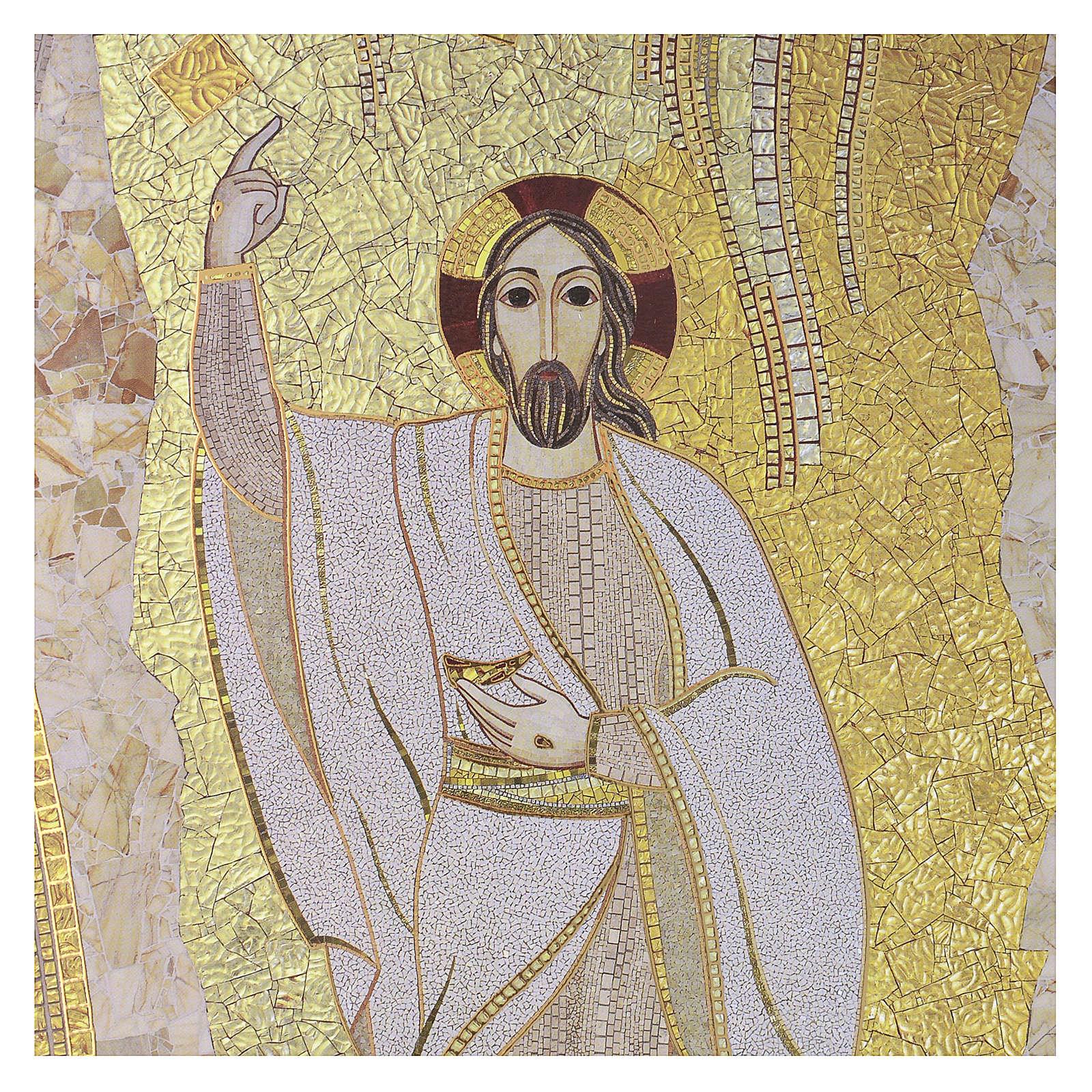 Tavola stampa Cristo di Rupnik 20x30 3
