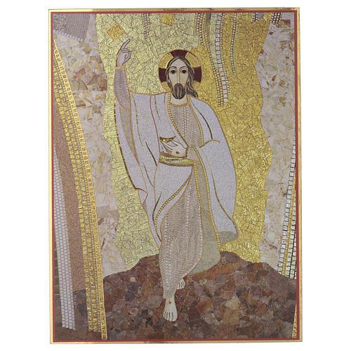Tavola stampa Cristo di Rupnik 20x30 1