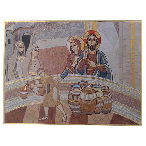 Tavola stampa Nozza di Cana Padre Rupnik 20x30 1