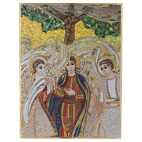 The Holy Trinity print on board by Father Rupnik 20x30 cm s1