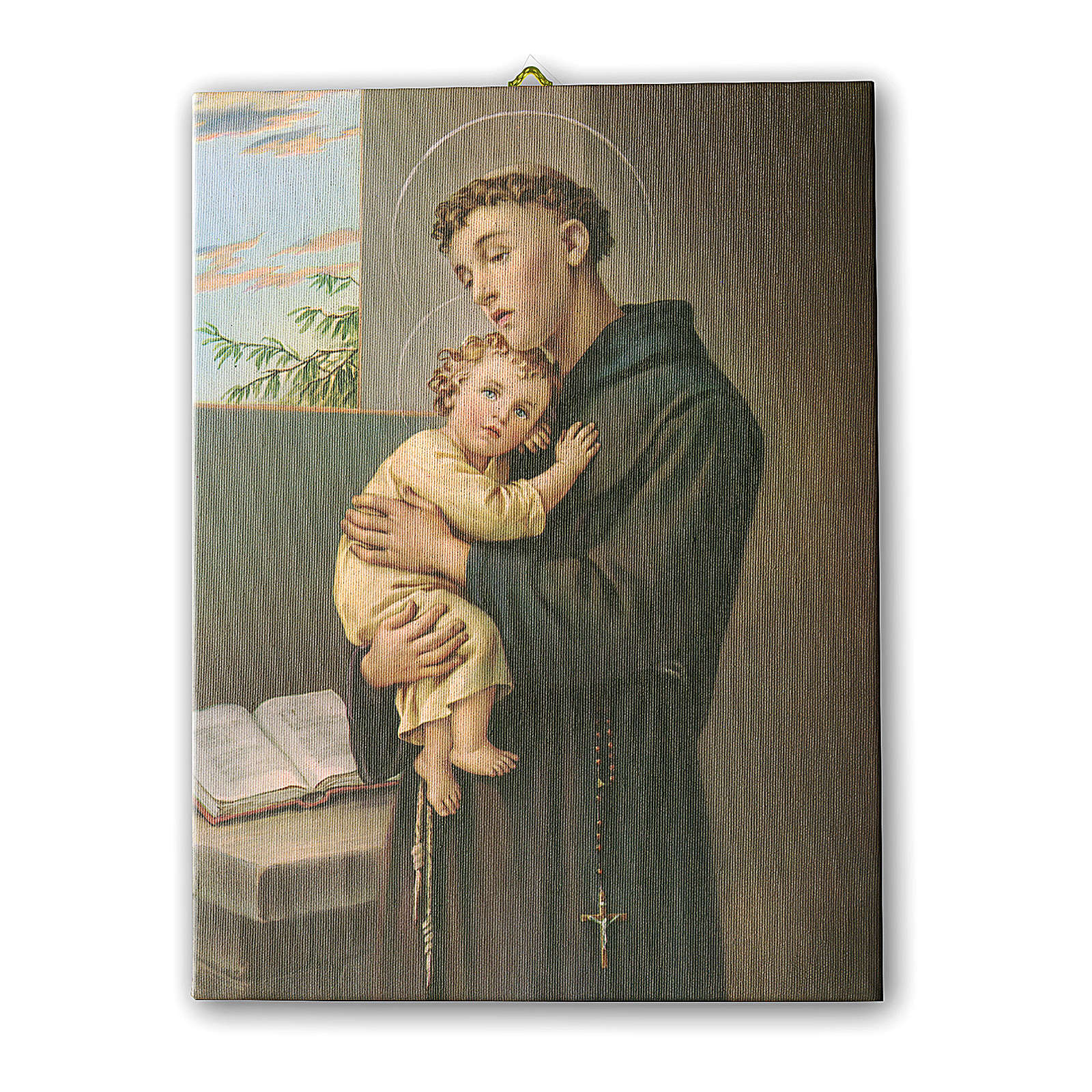 Print on canvas Saint Anthony of Padua 25x20 cm 3