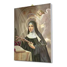 Obraz na płótnie święta Rita z Cascia 70x50cm s2