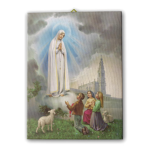 Apparition at Fatima print on canvas 25x20 cm 1