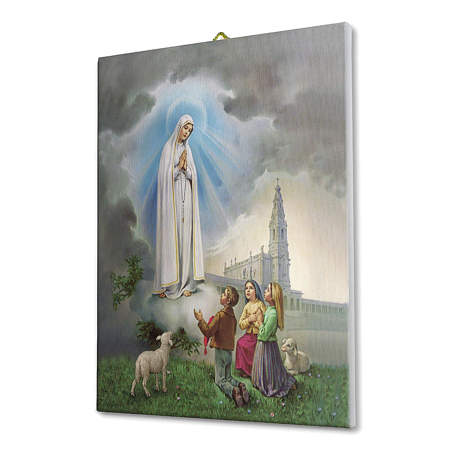 Apparition at Fatima print on canvas 70x50 cm 3